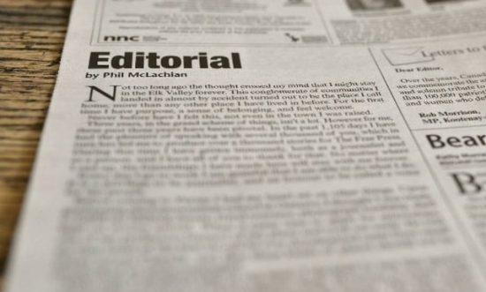 Pengertian Teks Editorial Adalah
