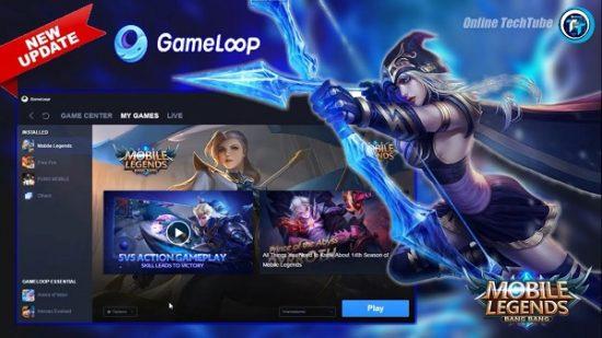 Cara Install Gameloop Mobile Legends Tahun 2021