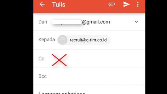 Cara Melamar Kerja Online Lewat Email