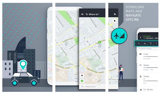aplikasi GPS di android