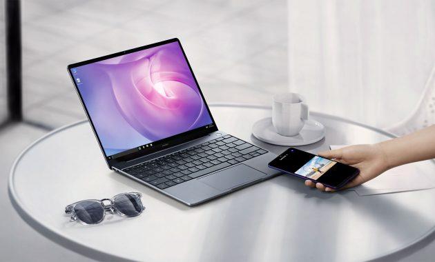Merupakan laptop yang didukung sistem berbagi berkas dengan cepat, Huawei Share 3.0