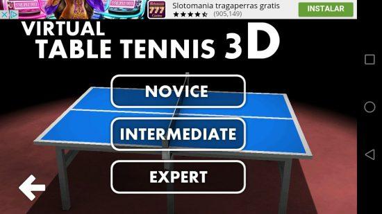 game tenis meja