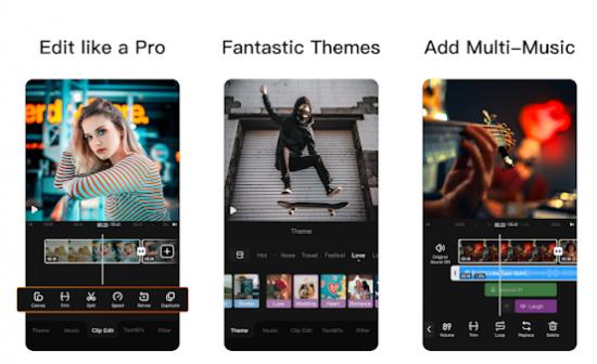Aplikasi Edit Video Android Ringan