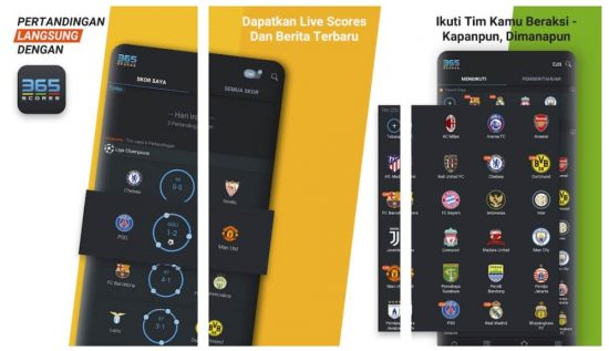 aplikasi live score bola